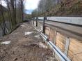Sesunutou silnici u Hanušovic se podařilo opravit dříve