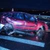 havárie na obchvatu u Postřelmova             zdroj foto: PČR