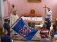 Na pouti v Ráječku byla požehnána moravská vlajka