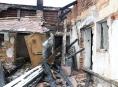 Výbuch uniklého plynu a následný požár na Litovelsku