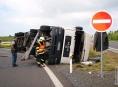 Pomoc při dopravní nehodě v Paloníně