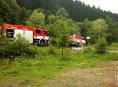 Hasiči pomáhali u série dopravních nehod v Olomouckém kraji