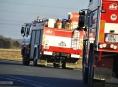 Čtyři jednotky hasičů likvidovaly v pátek večer požár v Mohelnici