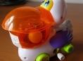 Pelikán na klíček je nebezpečná hračka!