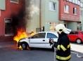 Tři požáry osobních vozidel během jediné hodiny v Olomouckém kraji
