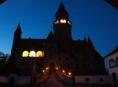 Na hradě Bouzov bude v provozu osvětlení hradu