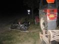 Nehoda motorkáře a traktoru u Dubicka si vyžádala dvě těžká zranění
