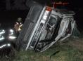 Tři lidé byli zraněni při dopravní nehodě mikrobusu na silnici R35