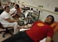 Do FN Olomouc dnes přišel letošní desetitisící dárce krve
