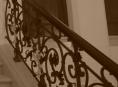 V Šumperku ukradl zloděj historické zábradlí