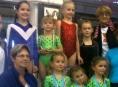 Šumperské gymnastky reprezentovaly v  Budapešti