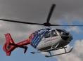 V Jeseníkách letěl pro zraněné třikrát vrtulník