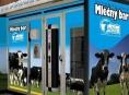 """Silvestrovské veselí """"odnesl"""" automat na mléko v Zábřehu"""