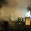 Požár zničil dřevěnou chatu u Křemačovského rybníka  zdroj foto:HZS Ok