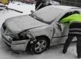 Osobním vozidlem naboural v Zábřehu autobus a ujel
