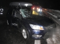 Středeční hromadná dopravní nehoda na R 46