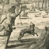 Na snímku : V. Hollar: Pes a jeho pán, kolem roku 1665. Fotoarchiv VM v Šumperku.
