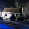 požáru domu v Horních Loděnicích   zdroj foto:HZS Ok