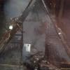 Chatka v lese nedaleko Nového Malína lehla popelem  zdroj foto:HZS Ok