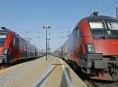 Railjet přijel do České republiky