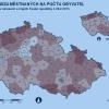 Podíl nezaměstnaných na počet obyvatel   zdroj MPSV,ČSÚ