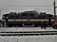 Na nádraží v Šumperku hořela lokomotiva