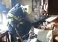V Olomouci hořel byt v panelovém domě
