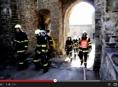 VIDEO: Požár na hradě Helfštýn