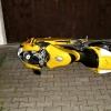 poškozené Ducati 999   zdroj foto:PČR