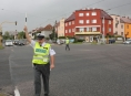 FOTO:Jak probíhala soutěž dopravních policistů v Olomouci