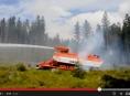 Hořelo v Lesním revíru Kobrštejn: Zasahoval i požární tank SPOT