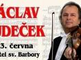 Zábřeh: V kostele sv. Barbory zahraje Václav Hudeček