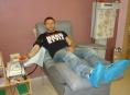 Deset hráčů týmu Dietos darovalo krev v Šumperku