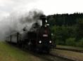 Parní vlak v sobotu vyjíždí na oslavy města Uničova