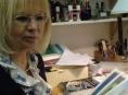 Výtvarnice Míla Prokůpková vystavuje v šumperské knihovně