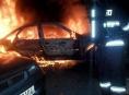 Noční požáry v Přerově - místní části Předmostí