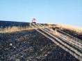 Hořelo pět hektarů pole u Nové Hradečné
