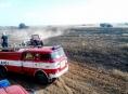 Dvacet požárů za dva dny v Olomouckém kraji