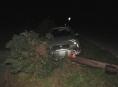 Téměř tři promile alkoholu u řidiče jsou příčinou demolice sloupu v Oskavě
