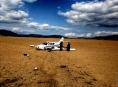 U Vikýřovic havarovalo malé dopravní letadlo