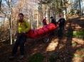 Tři muže během odpoledne zachraňovala Horská služba v Jeseníkách