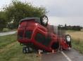 Vosa zavinila dopravní nehodu na Přerovsku