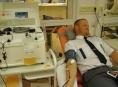 Dopravní policisté z Olomoucka darovali krev