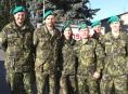 Členové aktivních záloh Armády ČR v Šumperku darovali krev