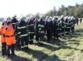 V lese na Prostějovsku pátralo sto záchranářů po deseti osobách