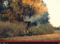 Hořel posed v Křelově