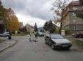 V Šumperku senior na kole náhle vjel před auto