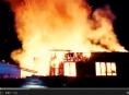 Požár zasáhl výrobnu v Hlušovicích na Olomoucku