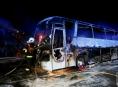 Na Olomouku během jízdy začal hořet autobus