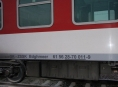 Ve stanici Červenka hořel vlak